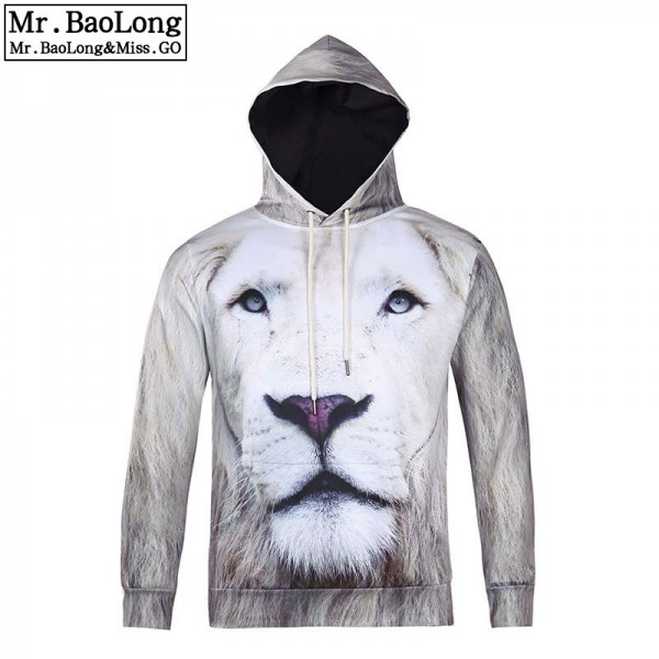Animal Lion Printed Fashion Brand Hoodies Men/Women 3d Sweatshirt Hooded Hoodies With Cap And Pockets Hoody lovely Tracksuits