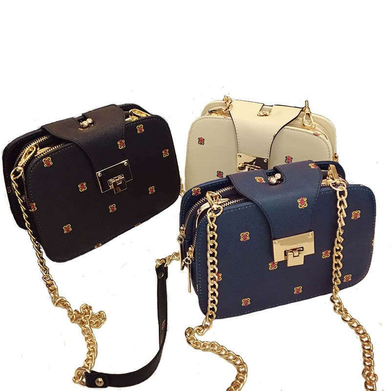 d197b03eae Autumn Winter Bag 2017 New Fashion Women Handbags Leather Shoulder Bag  Retro Messenger Small Chain Crossbody Bag Bolsa Feminina