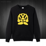 Autumn Winter Brand VW FACE Volkswagen Auto Printed Hoodies Graphic Tees Mens Sweatshirts Cotton O Neck Pullover