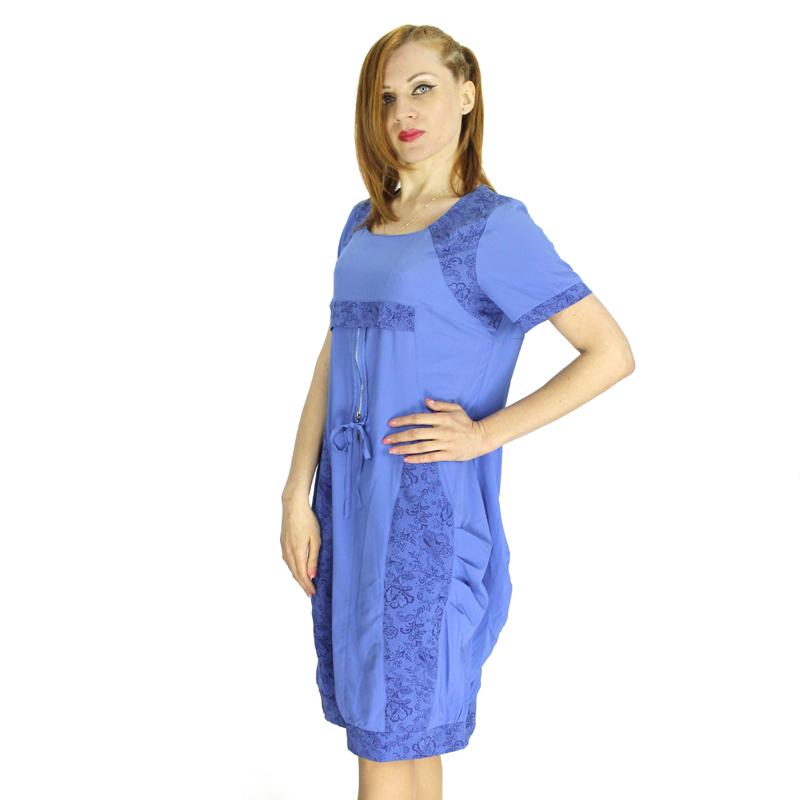 Bfdadi 2016 New Fashion Women Bud Dress Twin Pockets Short Sleeve