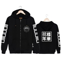BTS Bangtan Boys kpop hooded sweatshirts number letter moletom (IN THE MOOD FOR LOVE) outfit k-pop long sleeve hoodie clothes