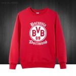 BVB Borussia Dortmund Foot ball Boy Mens Hoodies  2016 Autumn Winter Pullover Novelty Long Sleeve Cotton Sweatshirts For Man