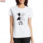 Bears Black And Polar Fuse Into Panda T Shirt Funny Geek Design Naughty Creative T-shirt Fashion Novelty Tee Cool Tshirt