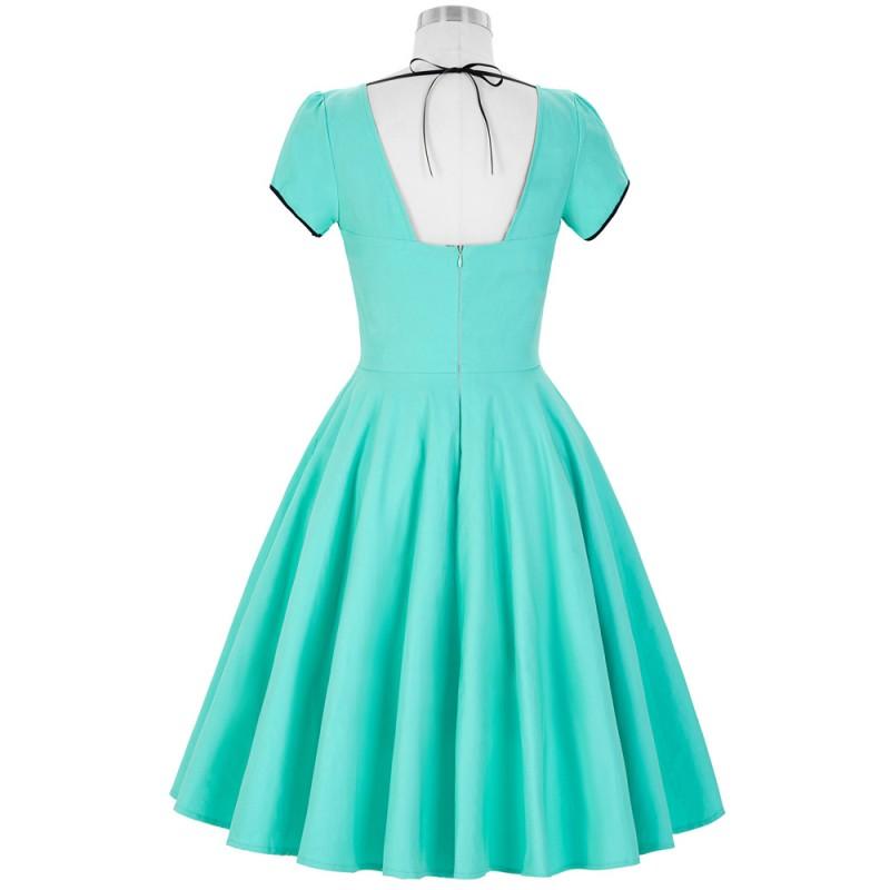 Belle Poque Womens Dresses 2017 50s Retro Vintage Short ...