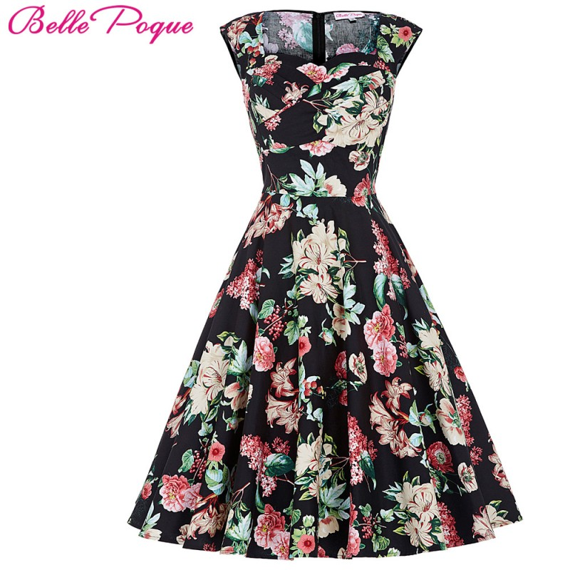 e8dde67b5263b Belle Poque Womens Summer dresses 2017 Summer Casual Party Dress ...