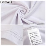 Beswlz Men's Short Sleeve V Neck T-Shirts Summer Cotton Slim Brand Clothes Fashion Casual Style T Shirts Men Tops Tees 6923