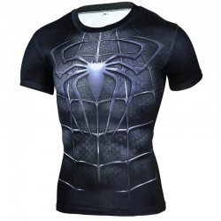 Brand Clothing 2016 Superhero Compression Shirt 3D Captain America Punisher T Shirt Bodybuilding Crossfit t-shirt