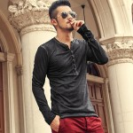 Brand Designer Men Cotton Vintage Henry T Shirts Casual Long Sleeve High quality Men old color Cardigan T shirt  2016 hot sale