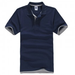 Brand New Men's Polo Shirt For Men Desiger Polos Men Cotton Short Sleeve shirt clothes jerseys golftennis Plus Size XS- XXXL
