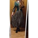 Brand style Women's Bohemian Dress 2015 New Arrival irregular Wide Hem Design Comfortable Vintage Embroidery Cotton Long Dresses