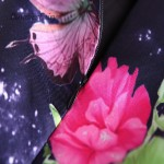BunniesFairy 2018 Women Summer Dress Runway Vintage Fantasy Butterfly Flower Floral Print Robe High Waist Tank Dress Plus Size
