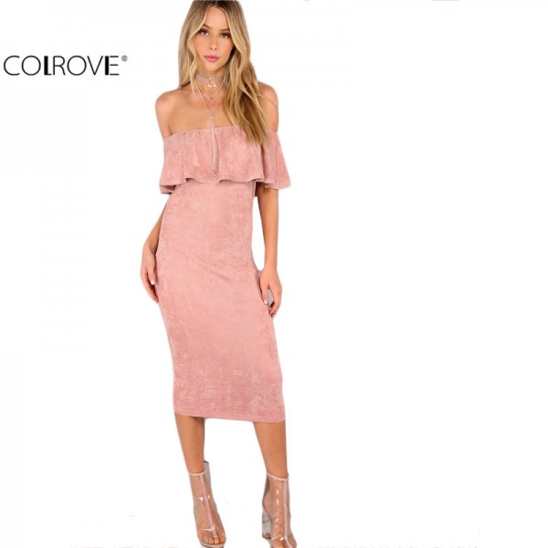 COLROVIE Woman Party dresses Elegant Evening Sexy Club Dresses New ...