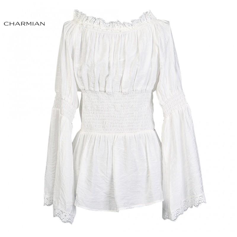 64fb4cd554693 ... White Modest Fashion Plus Size ASHRO Victoria Dress Source · Charmian  Autumn Off Shoulder Top Vintage Gothic Victorian Blouse