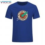 Cheap 2017  Fashion O-Neck Active Personalized Print Planet Express Cotton T Shirt Hip Hop Short Sleeve T Shirts Men