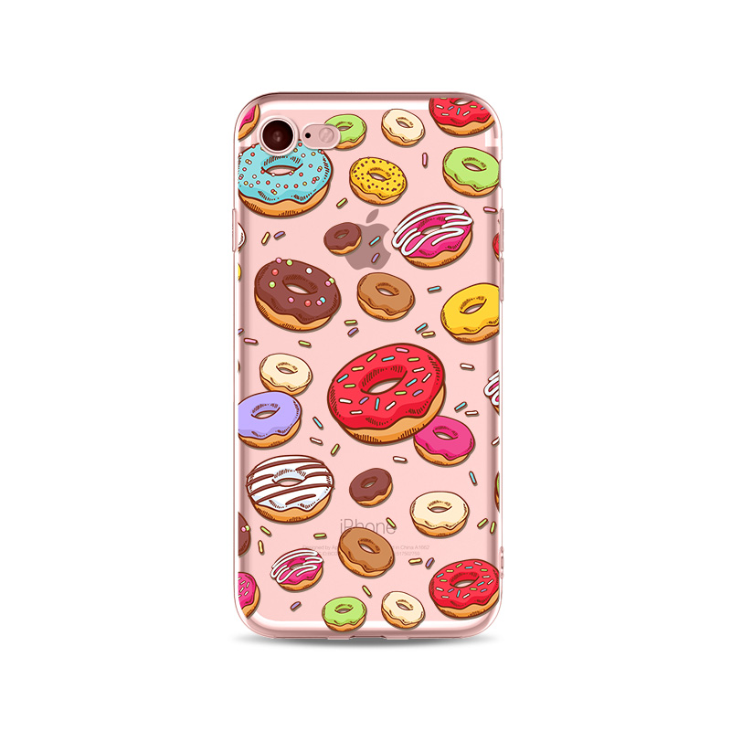 Donuts and Girl 3 iphone case