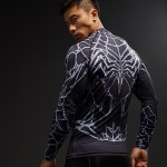 Crossfit fitness body building Clothing Compression Shirt Men 3D Printed T-shirts Raglan Long Sleeve Cosplay Costume Tops Male