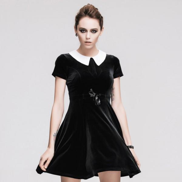 Simple Black Cocktail Dress