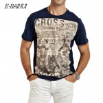 E-BAIHUI brand Summer style t shirts fashion t-shirts Men Cotton t shirt man casual tops tees mens hip hop tee tops Y032