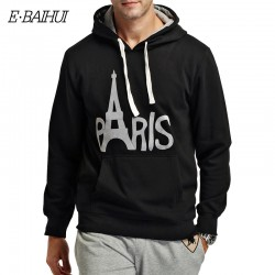 E-BAIHUI brand mens hoodies and sweatshirts Moleton Masculino Cotton Suit hoodies Men Sweatshirts men winter coat swag WY002