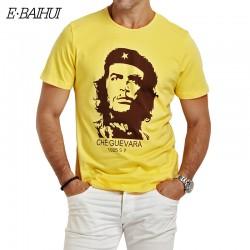 E-BAIHUI brand summer style men t shirt print t shirts men's casual clothing cotton mens t shirts fashion hombre tops tees Y033