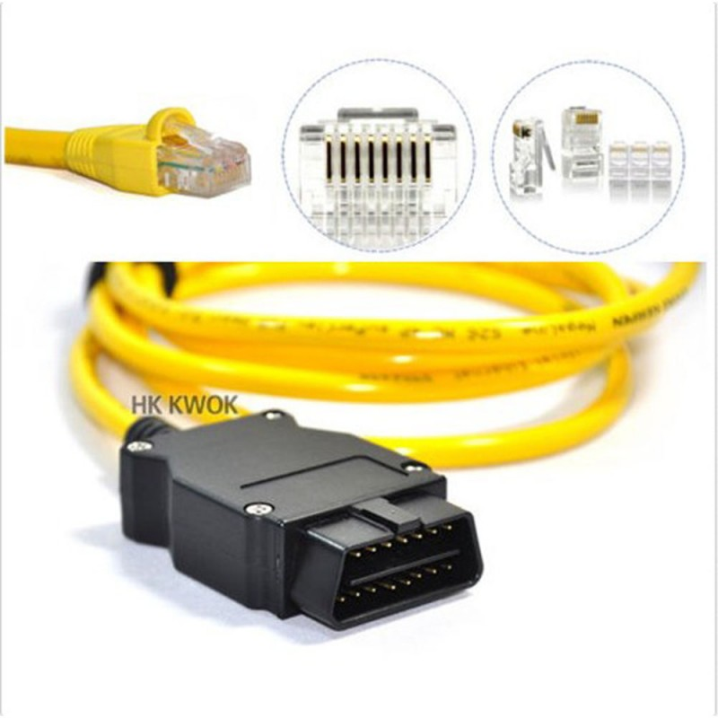 ESYS 3234 V503 Data Cable For Bmw ENET Ethernet To OBD OBDII 2 Interface