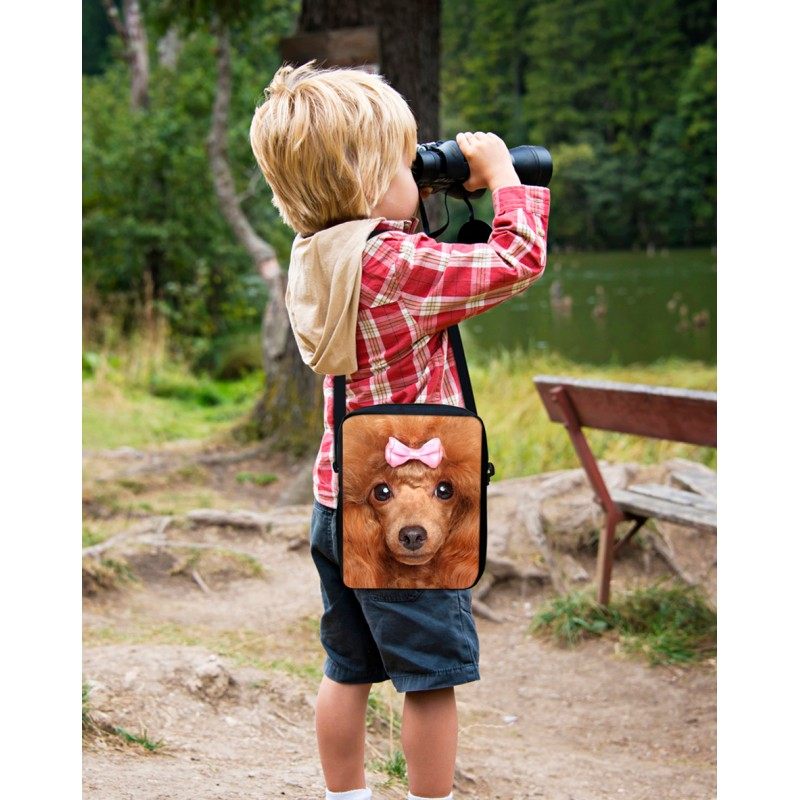 3f6d1f0eb6a5 FORUDESIGNS cute pet cat animal bags for girls small messenger bag ...
