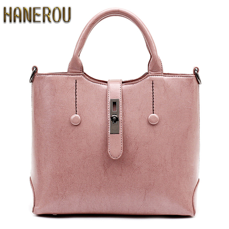 Famous Brand Ladies Hand Bags PU Leather Women Bag Casual Tote Shoulder Bags  2016 Sac New Fashion Luxury Handbags Large Tote Bag 6bdc722e38