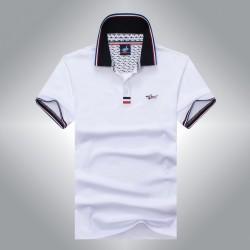Famous tace shark man shirt camisa shirt masculina top quality pure color slim fit cotton t shirt man comfortable cool shark920