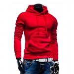 Fashion Brand Hoodies 2016 Men Casual Sportswear Man Hoody Zipper Long-sleeved Sweatshirt Plus Size Slim Fit Men Hoodie European