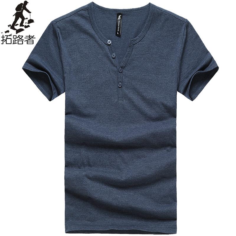 Pioneer Camp Men T Shirt New 2017 Cotton Simple Print: Free Shipping! New 2017 Summer Men T Shirt 100%cotton Thin