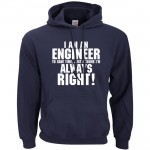 Funny Men Hoodie I'm An Engineer Hoodies Sweatshirts 2016 autumn winter warm fleece loose hooded men sportswear sudadera hombre