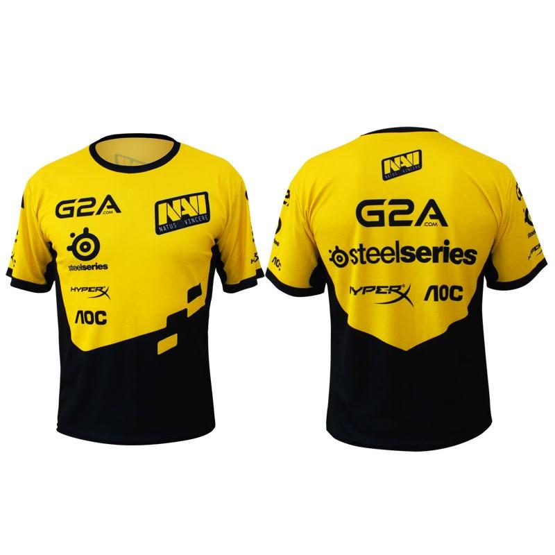 Game Team Jersey Natus Vincere Navi T Shirt CSGO LOL DOTA2 short