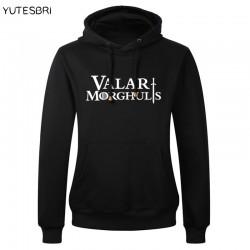 Game of Thrones Valar Morghulis hoodies All Men Must Die man men male thickening sweatshirt Hoodie