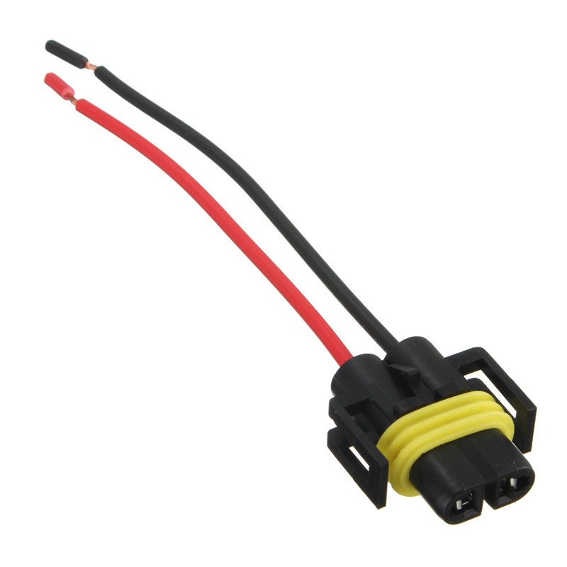 H8 H11 Adapter Wiring Harness Socket Car Auto Wire Connector ... H Headlight Wiring Diagram on h1 headlight wiring, h13 headlight wiring, h4 headlight wiring, h9 headlight wiring,