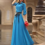 HEE GRAND Party Dress Women Floor-Long Plus Size Dress 2018 Spring A-Line Slim Maxi Dresses Vestidos With Sashes WQL1476