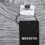 HEYGUYS 2017 extend hip hop street T-shirt wholesale fashion brand t shirts men summer long sleeve oversize design hold hand