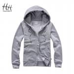 HanHent 2016 Autumn Winter Fashion New Zipper Hooded Male Streetwear Hip Hop Long Hoodies Clothing Men Sweatshirt Cool Man XXXL