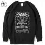 HanHent Breaking Bad Heisenberg Men Thick Fleece Sweatshirts Walter White Man Tops Clothing 2016 Winter Fashion New Sweatshirt