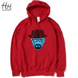 HanHent Breaking Bad Hoodies Men Heisenberg Walter White Hat Thin Hooded Cotton Long Sleeve Swag Sweatshirts Pullover HO0420