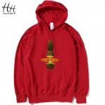 HanHent Explosion Pineapple Fashion Thin Hoodies Men Cotton Casual Long Sleeve Sweatshirts Men Hood Novelty Brand Clothes