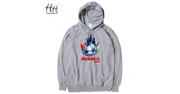 HanHent Russia Printed Moscow Men's Hoodies Fitness 2016 Spring Autumn Hooded Men Streetwear Thin Sweatshirts Pullover HO0193