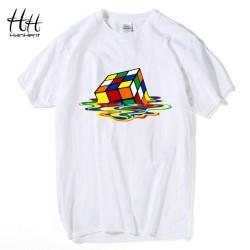 HanHent The Big Bang Theory T-shirts Men Funny Cotton Short Sleeve O-neck Tshirts Fashion Summer Style Fitness Brand T shirts