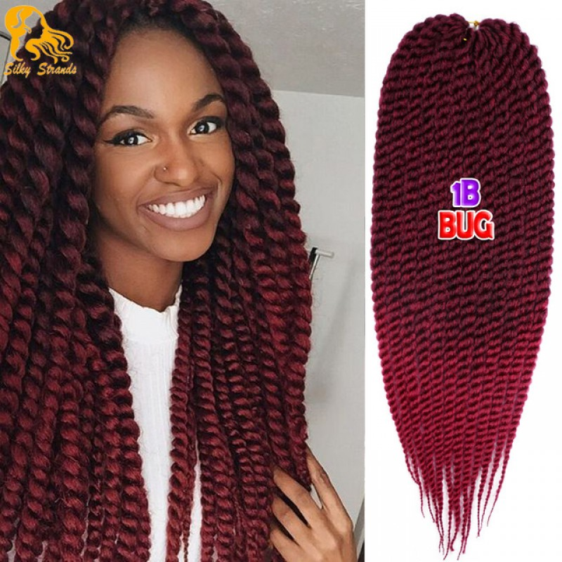 Havana Mambo Twist Crochet Braid Hair 100gpack 2x Synthetic
