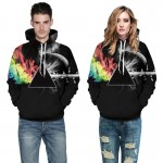 Headbook Brand Sweatshirts Men/women 3d Sweatshirts Print Sunlight Refraction Rainbow Hooded Hoodies Pullover Tops Hoody