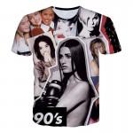 Headbook New Fashion Men/Women T-shirt Summer Tops Short Sleeve cat 3d Print T-shirt Space galaxy T shirt Cartoon Tees