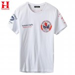 Headbook New Summer fashion men's T-shirt cotton Cartoon funny Print  Red Devil Airman T shirt men plus size XXXL NT18