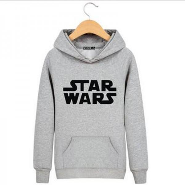 High Quality Cotton in Star Wars Sweatshirts Men Brand Hoodies Men 2016 Spring Male Sweatshirt Teenage for Young Men