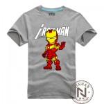 Iron Man T-Shirt Men Boy T Shirt Cartoon The Avengers Movie Tshirt Clothing Super Hero Ironman Tee