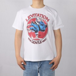 JUDO JIU JITSU MMA levitation short sleeve T-shirt Top Lycra Cotton Men T shirt New DIY Style