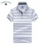 JUNGLE ZOE brand men 's T-shirt men' s short - sleeved lapel t-shirt Striped tshirts free shipping 1611
